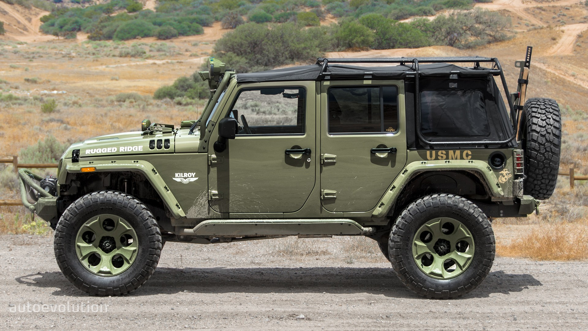 2014 jeep wrangler rubicon by rugged ridge review autoevolution. Black Bedroom Furniture Sets. Home Design Ideas