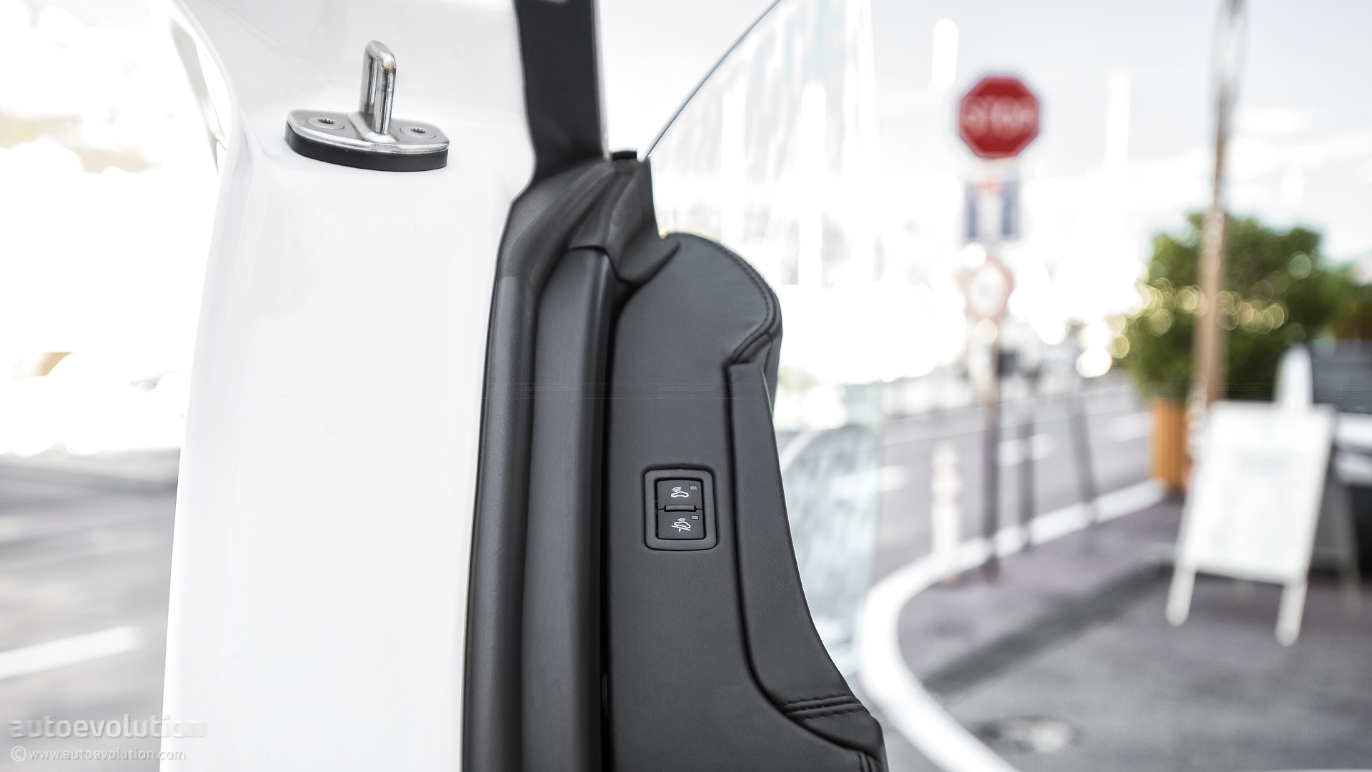 interior motion sensor disable button -- if you want to leave your dog in your locked car without setting off the alarm & What do these buttons on the inside of the door do? - Lamborghini Forum