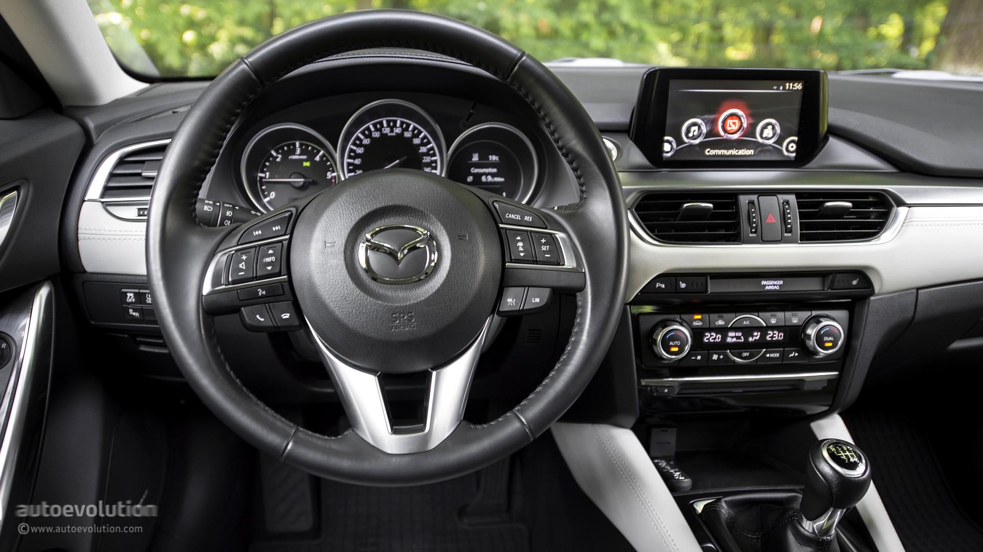 2016 Mazda6 Review Autoevolution