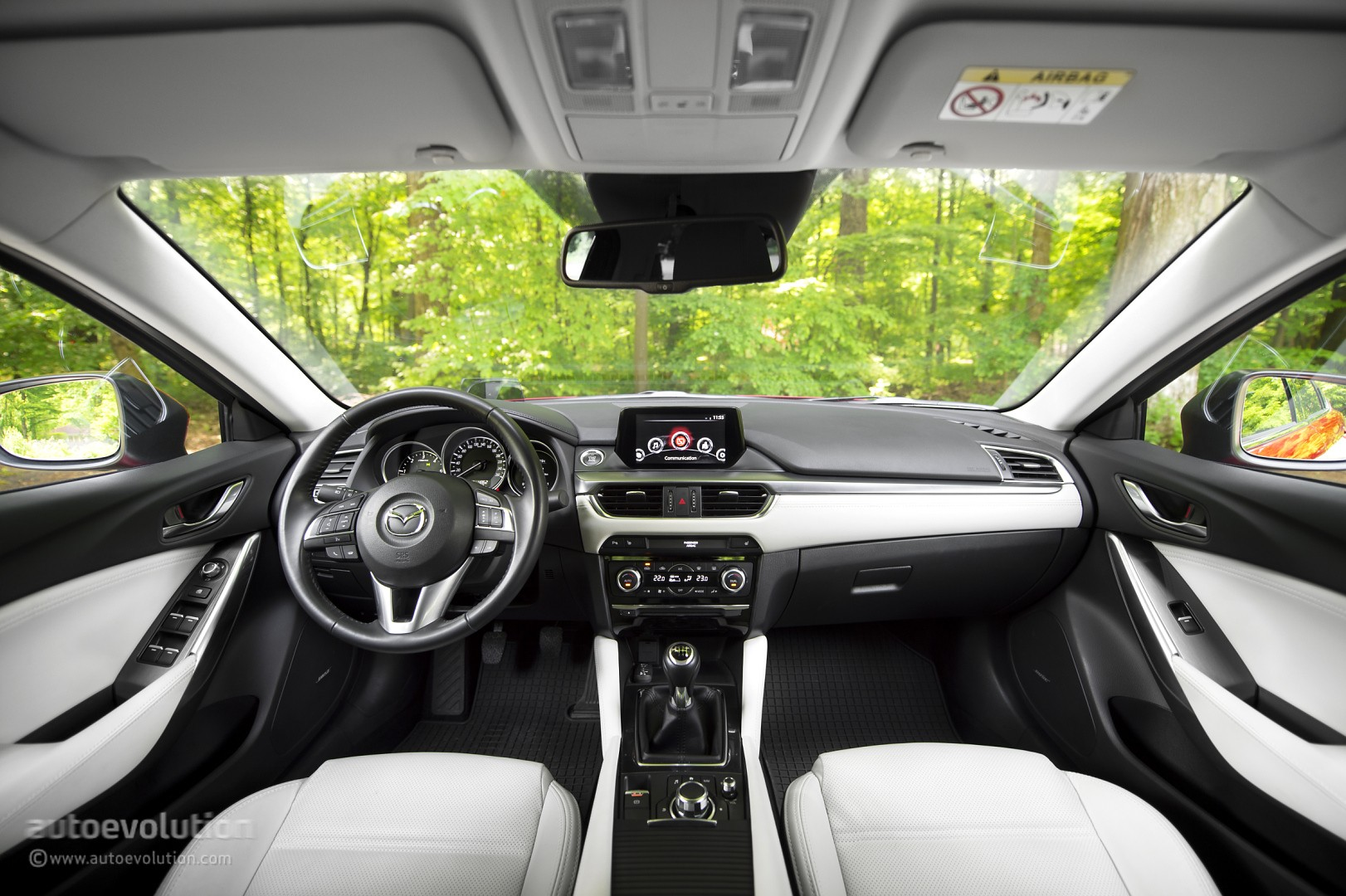 2016 mazda6 review autoevolution. Black Bedroom Furniture Sets. Home Design Ideas
