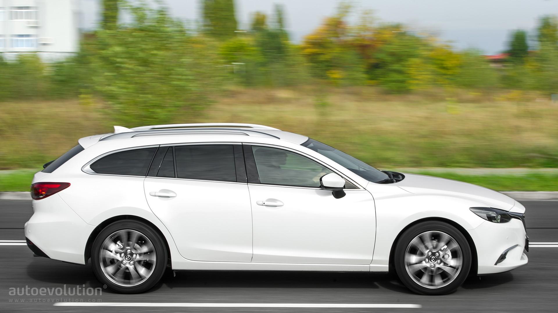 Excellent 2016 Mazda6 Wagon 22 SkyactivD Review  Autoevolution