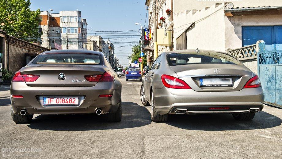 Mercedes Cls Vs Bmw 6 Series