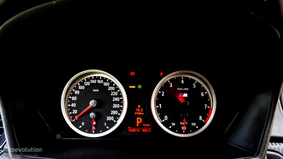 Bmw X6 M Speedometer And Rev Counter Photo 38 81