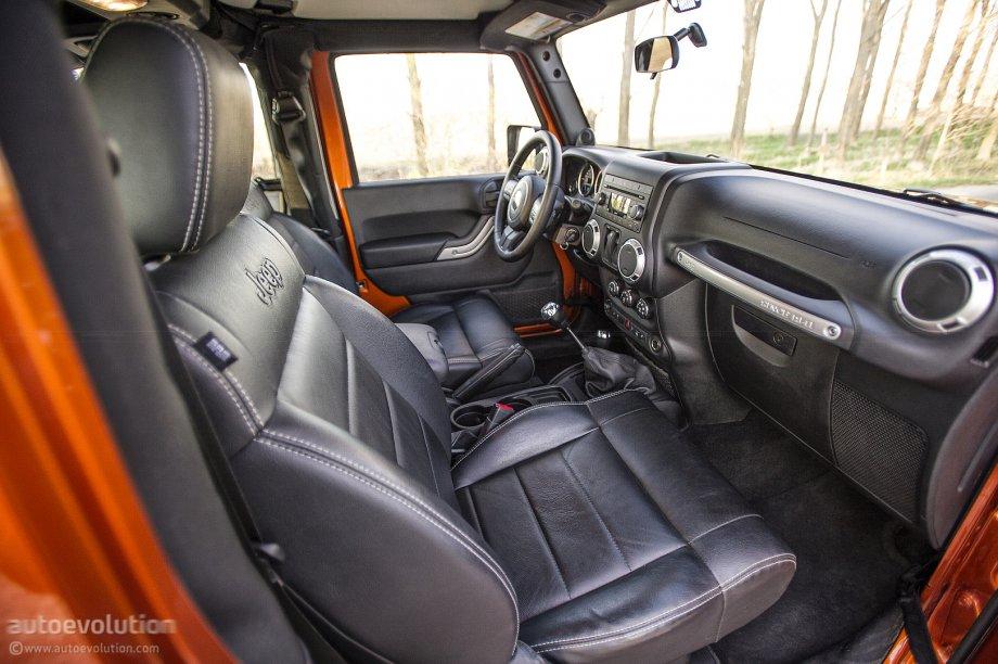 Jeep Wrangler Facelift Leather Interior Photo 37 86
