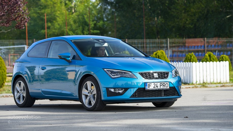 seat leon sc review autoevolution. Black Bedroom Furniture Sets. Home Design Ideas