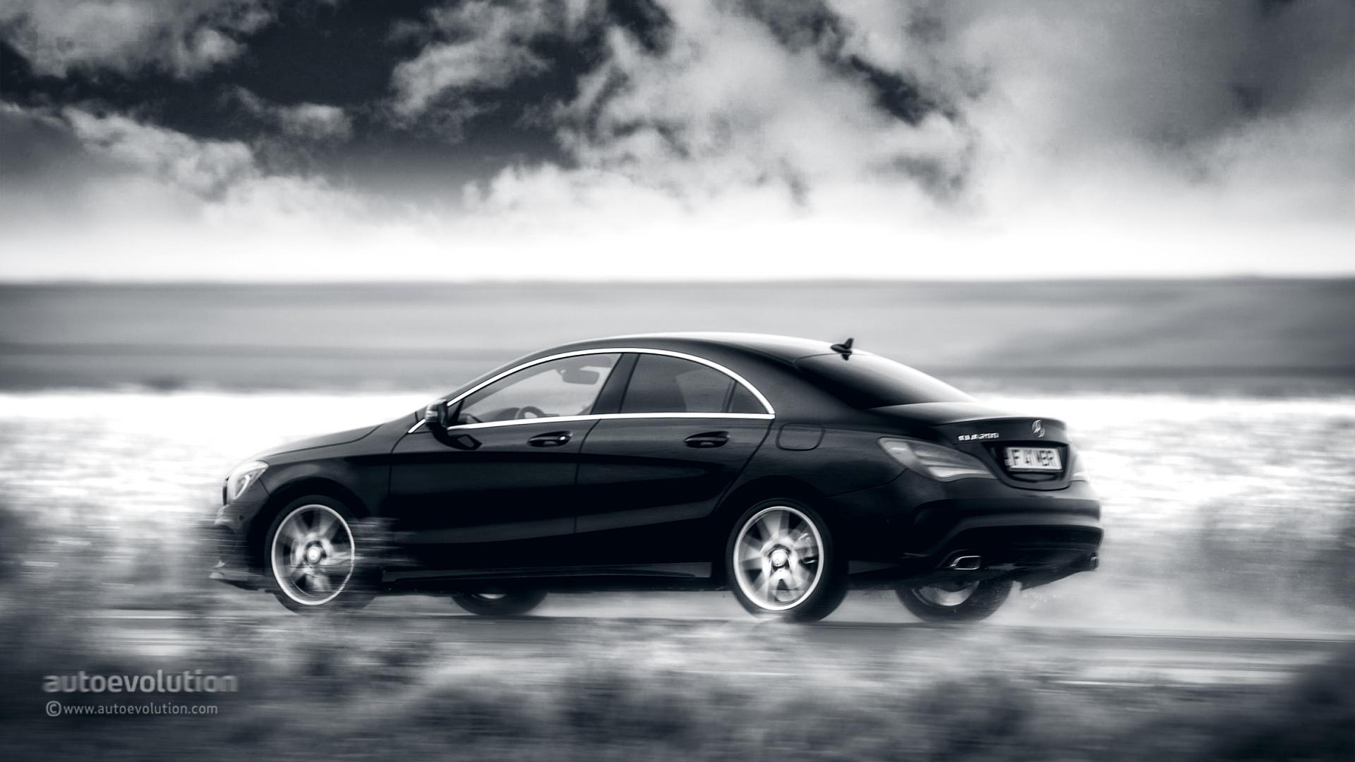 Cool Mercedes Benz Logo >> MERCEDES-BENZ CLA Review - autoevolution
