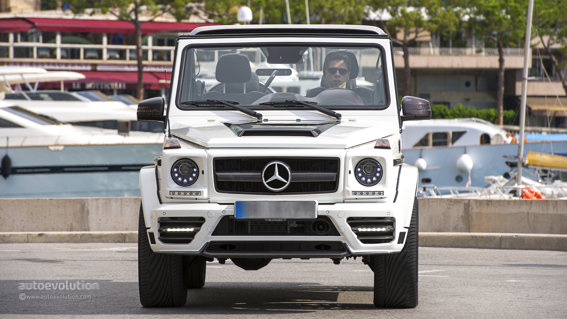 Mercedes benz g wagon raised fiat world test drive for Mercedes benz g class cabriolet