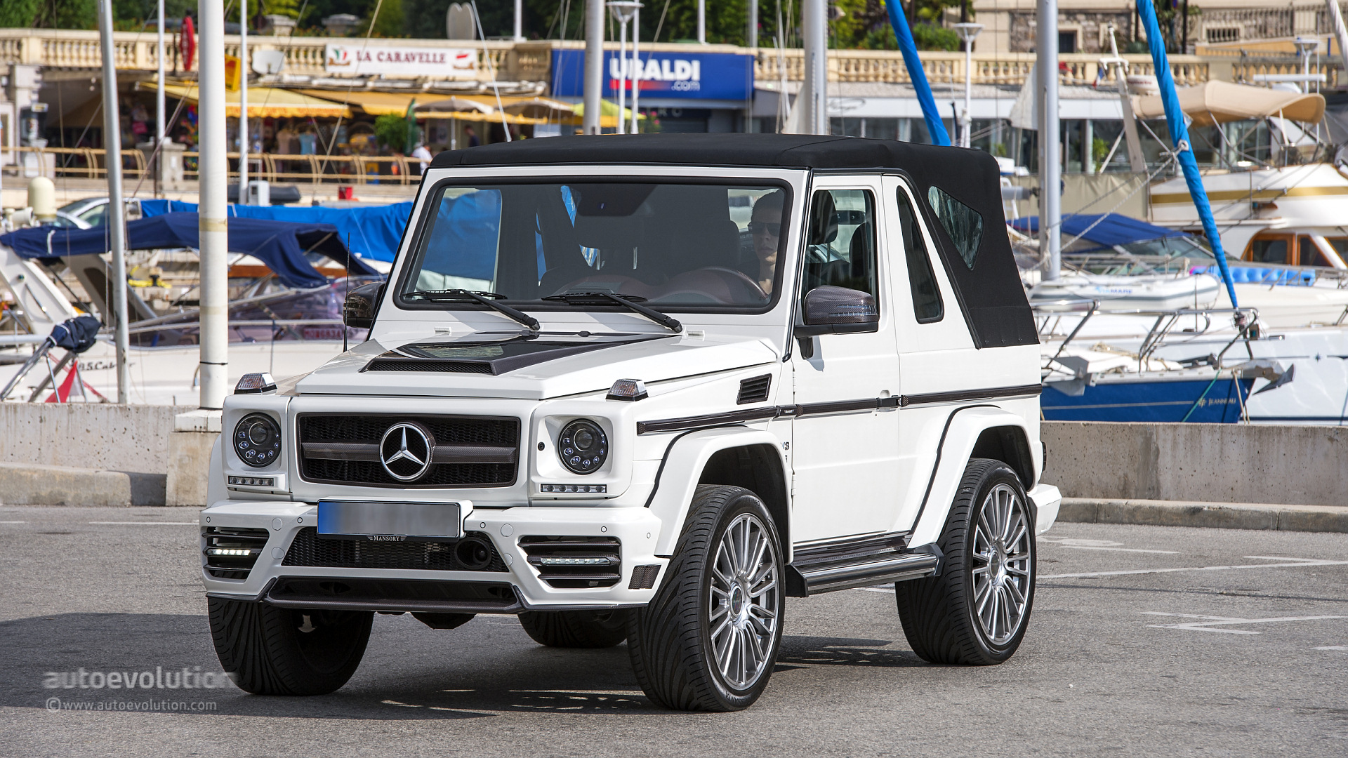 MERCEDES-BENZ G500 Cabriolet Review - autoevolution