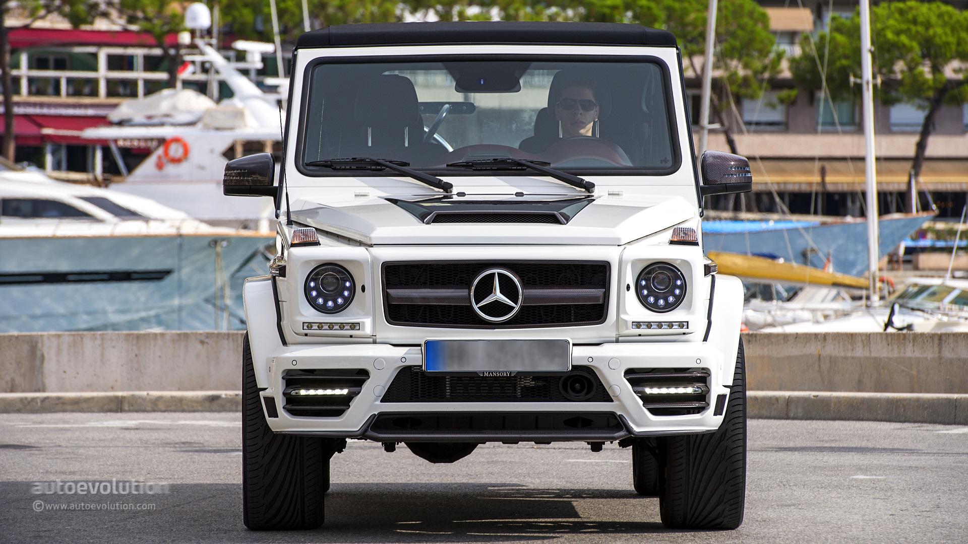 Mercedes benz g500 cabriolet review autoevolution for Mercedes benz 6500