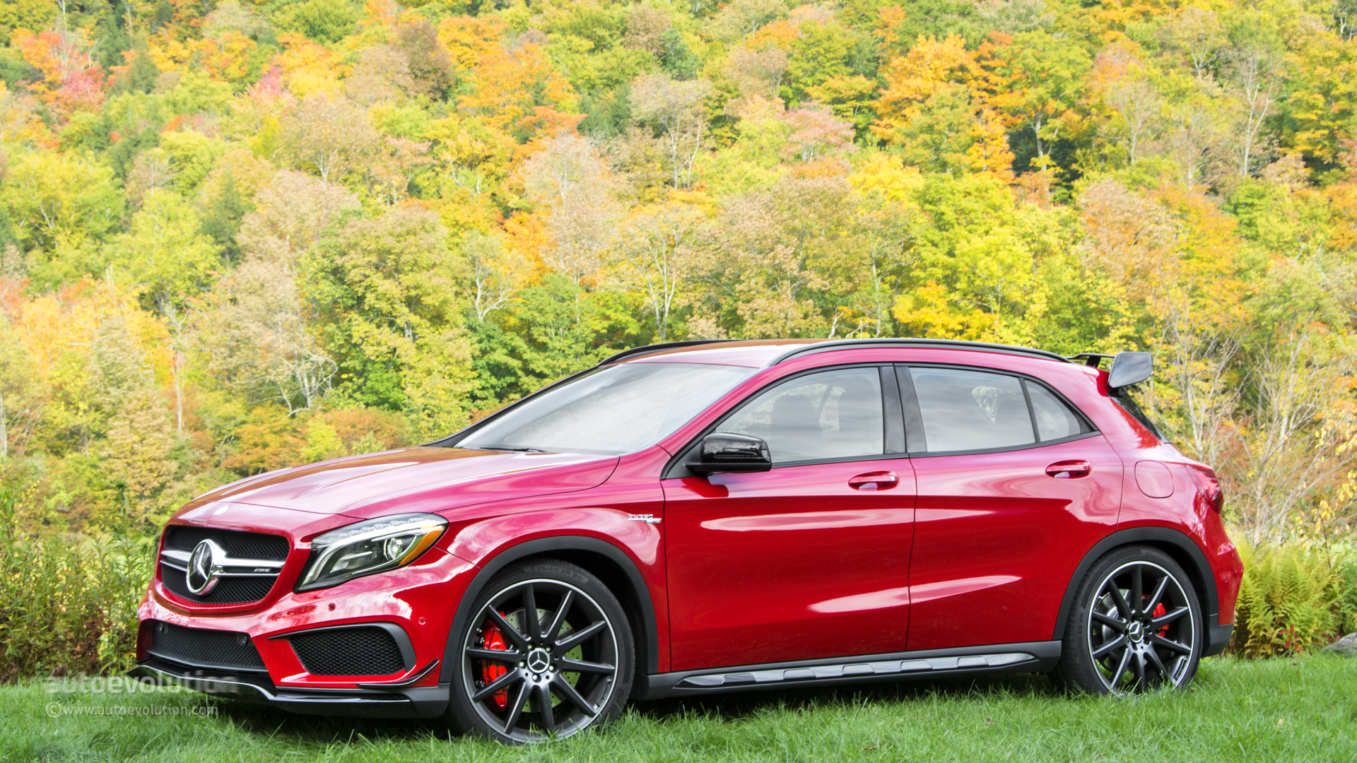 2015 Mercedes Benz Gla250 4matic Gla45 Amg Review