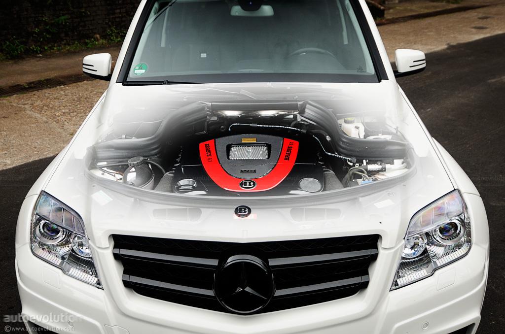 Brabus Mercedes Benz Glk V8 6 1 Review Autoevolution