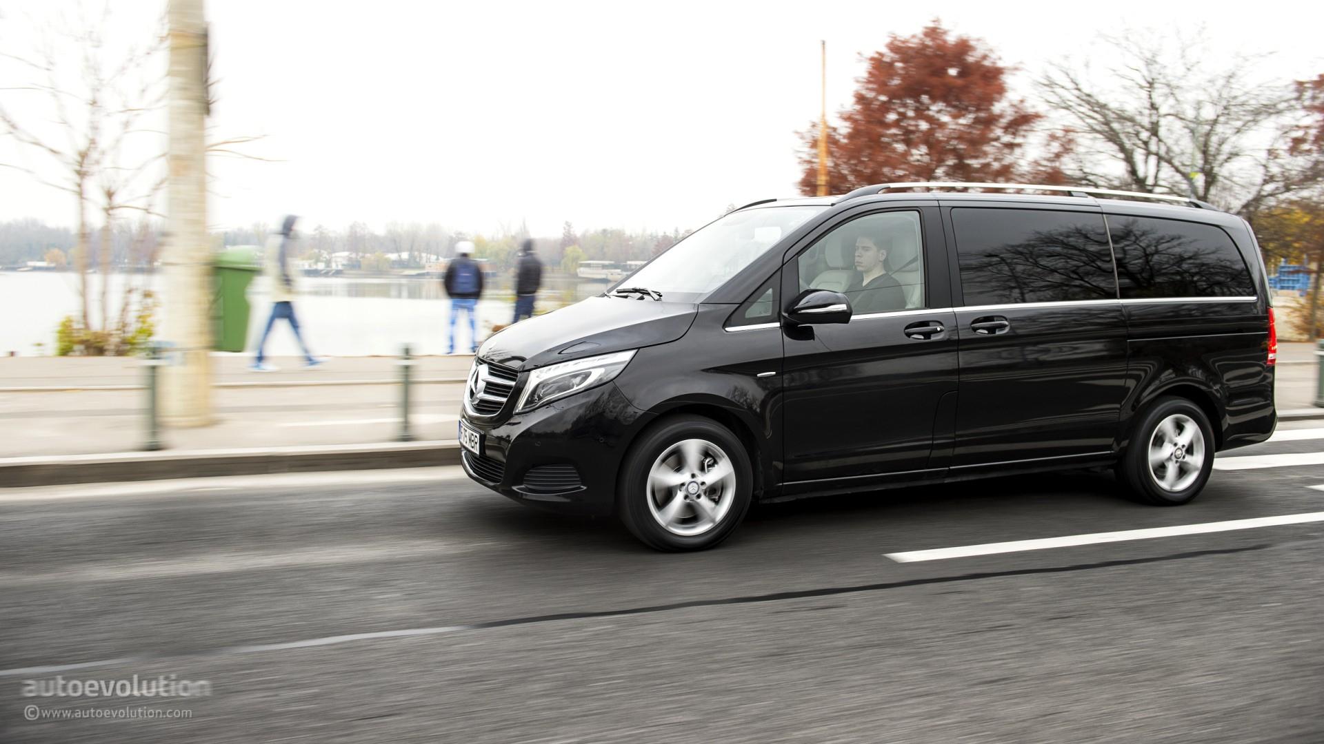 Mercedes benz v class review