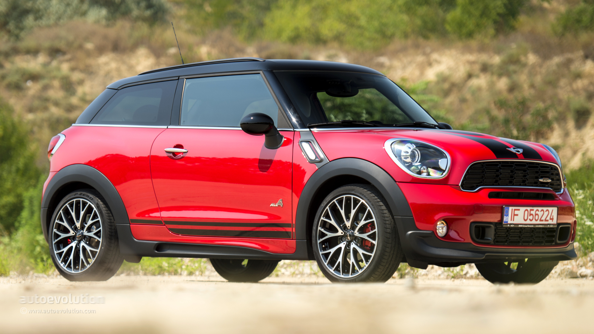 2015 mini john cooper works all4 paceman review autoevolution. Black Bedroom Furniture Sets. Home Design Ideas