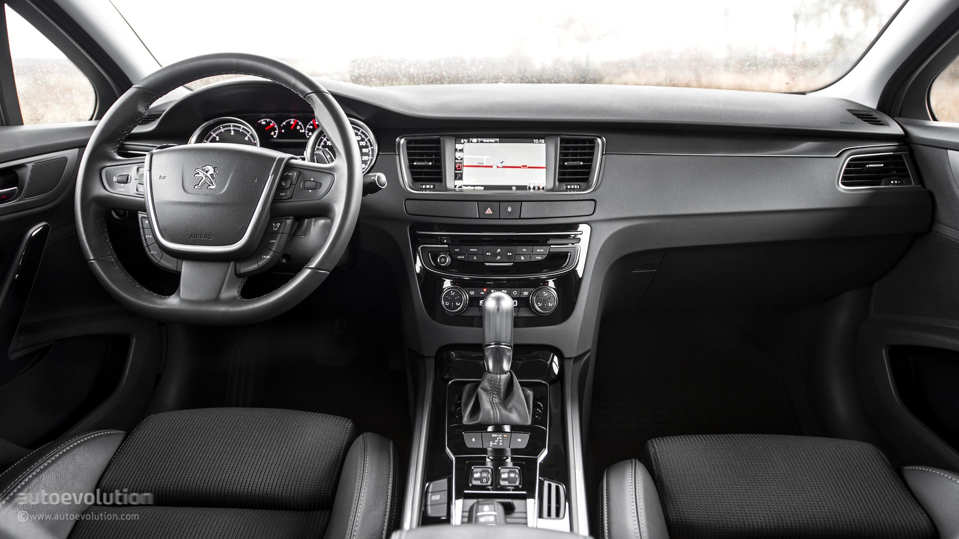 2015 peugeot 508 review autoevolution for Interieur 2015