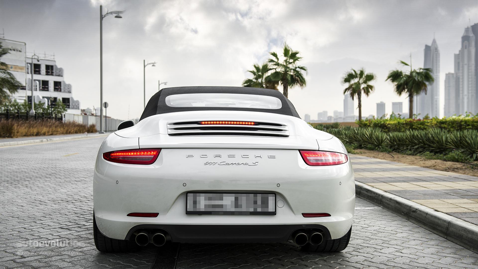Porsche 911 Carrera S Cabriolet Review Autoevolution