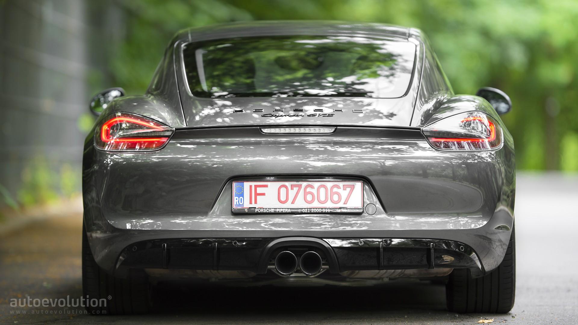2015 porsche cayman gts review - autoevolution