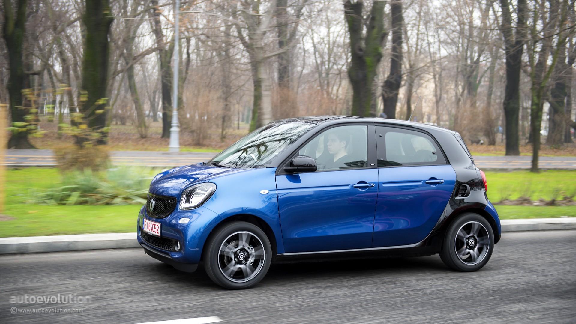 2015 Smart Forfour Review - autoevolution