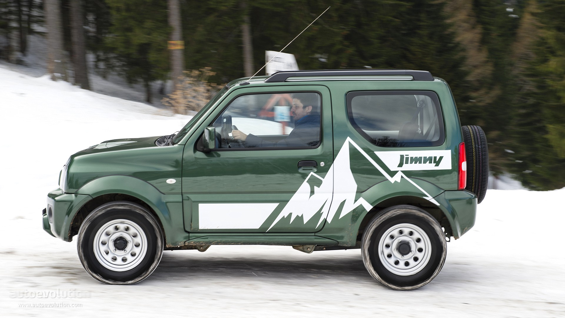 suzuki jimny review autoevolution. Black Bedroom Furniture Sets. Home Design Ideas