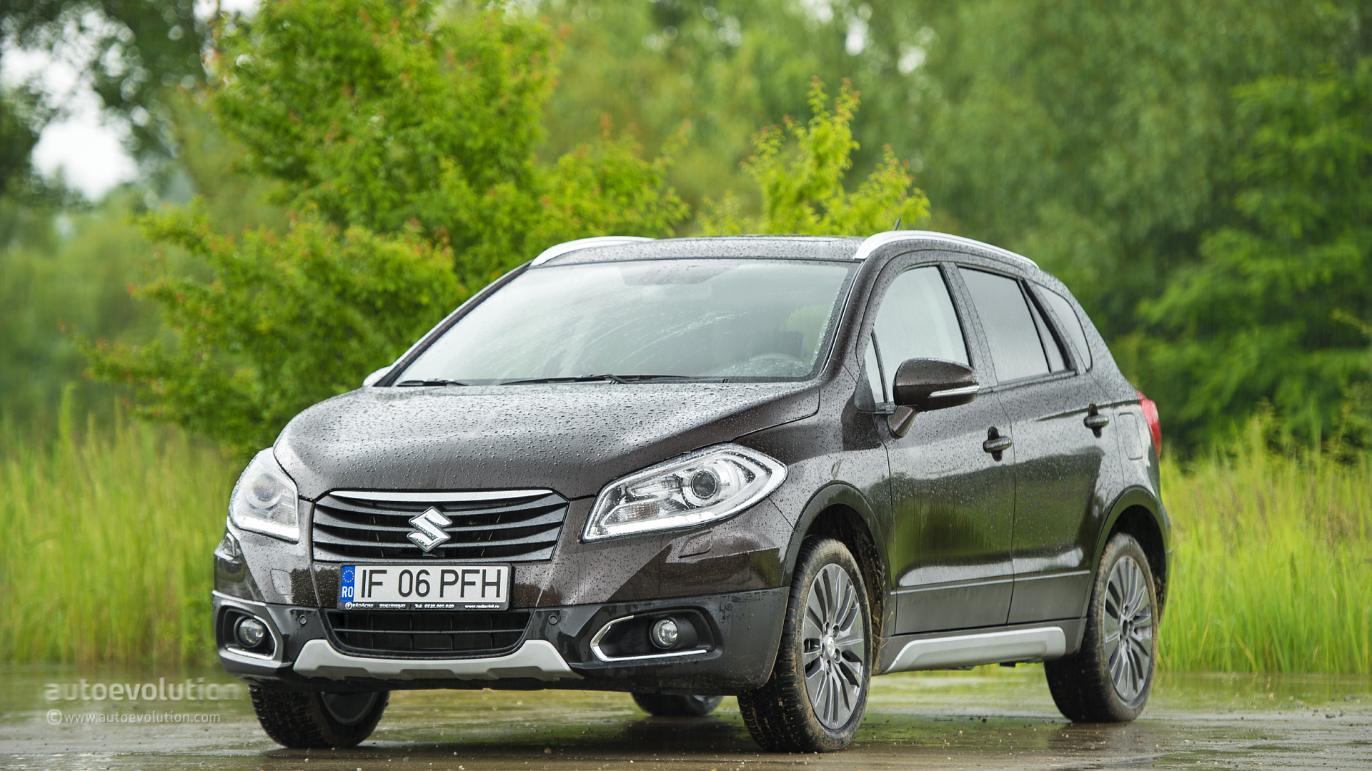 suzuki sx4 s cross hd wallpapers autoevolution. Black Bedroom Furniture Sets. Home Design Ideas