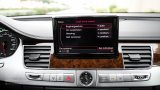 2013 AUDI A8 L infotainment screen