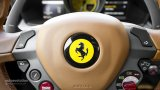 FERRARI badge on 458 Italia steering wheel