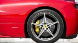 2013 FERRARI 458 Italia rear wheel with carbon ceramic brakes