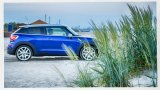 2013 MINI Paceman on the beach