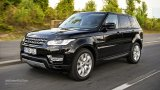 2014 Range Rover Sport open road driving