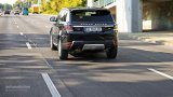 Range Rover Sport city driving