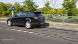 2014 Range Rover Sport at speed