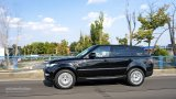 2014 Range Rover Sport city driving