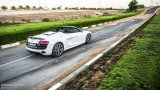 AUDI R8 V10 Spyder driving with top down
