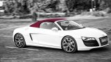AUDI R8 V10 Spyder with red top