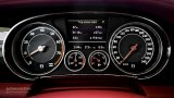BENTLEY Continental GT V8 speedometer and rev counter