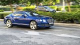 BENTLEY Continental GT W12 city driving