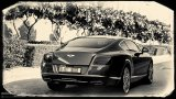 BENTLEY Continental GT W12 Black and White Photo