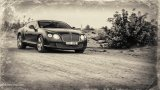 BENTLEY Continental GT W12 off-the-road driving