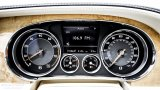 BENTLEY Continental GT W12 rev counter and speedometer