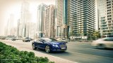 BENTLEY Continental GT W12 in the city