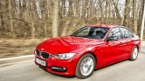BMW 3 Series open road