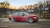 BMW 3 Series burnout