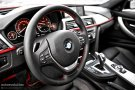 BMW 320d steering wheel
