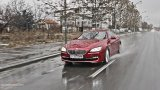 BMW 6 Series Coupe wet road
