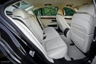 2011 BMW 740d xDrive Individual rear seats
