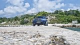 BMW X5 and the sea