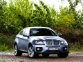 BMW X6 ActiveHybrid three quarters front view