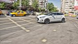 CITROEN DS5 hybrid city driving