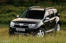 Dacia Duster three quarters front view