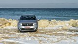 DACIA Logan on sand