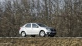 DACIA Logan on the open road